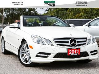 Used 2012 Mercedes-Benz E-Class E550 Cabriolet for sale in North York, ON