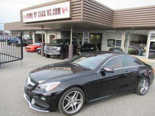 Used 2016 Mercedes-Benz E-Class E400 COUPE 4MATIC for sale in Langley, BC