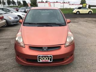 Used 2007 Honda Fit Sport for sale in Kitchener, ON