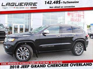Used 2018 Jeep Grand Cherokee Overland Awd V6 for sale in Victoriaville, QC