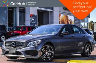 Used 2016 Mercedes-Benz C-Class C 450 AMG 4Matic|Pano_Sunroof|Burmester|LED|18