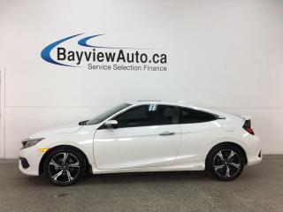 Used 2016 Honda Civic Touring - TURBO! REM START! TINT! SUNROOF! HTD SEATS! NAV! ADAPTIVE CRUISE! for sale in Belleville, ON