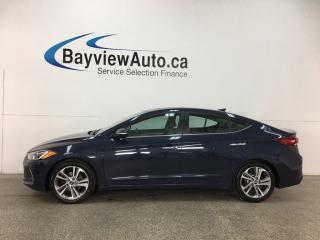 Used 2017 Hyundai Elantra Limited Ultimate - SUNROOF! HTD LTHR! INFINITY! RCTA! REVERSE CAM! for sale in Belleville, ON