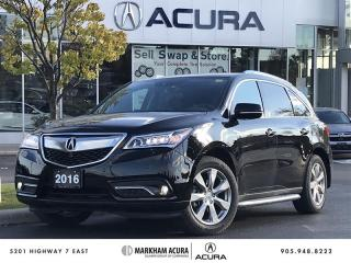 Used 2016 Acura MDX Elite - Ultrawide RES   360 Camera for sale in Markham, ON