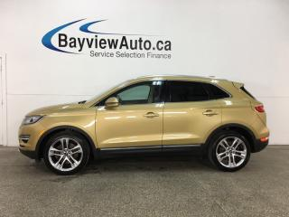 Used 2015 Lincoln MKC - ECOBOOST! KEYPAD! PANOROOF! NAV! HTD/AC LTHR! APA! for sale in Belleville, ON