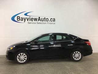 Used 2018 Nissan Sentra 1.8 SV - PUSH BTN START! SUNROOF! HTD SEATS! NISSAN CONNECT! FCW! for sale in Belleville, ON