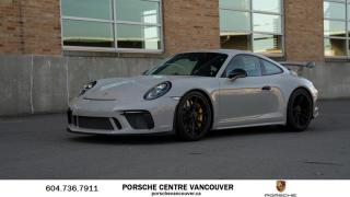 Used 2018 Porsche 911 GT3 w/ PDK | PORSCHE CERTIFIED for sale in Vancouver, BC