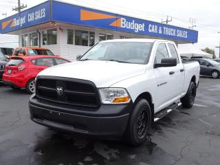 Used 2012 RAM 1500 Crew Work Truck, Serviced, Immediate Delivery for sale in Vancouver, BC