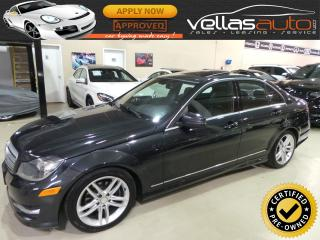 Used 2012 Mercedes-Benz C-Class C250 4MATIC| SUNROOF| LEATHER for sale in Vaughan, ON