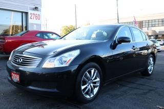 Used 2008 Infiniti G35X Sport Leather. Roof. LOW KLM for sale in Toronto, ON
