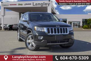 Used 2013 Jeep Grand Cherokee Overland for sale in Surrey, BC