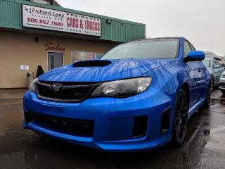 Used 2011 Subaru Impreza WRX!! TURBO!! RALLY BLUE!! for sale in Bolton, ON