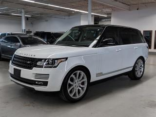 Used 2015 Land Rover Range Rover SUPERCHARGED!MASSAGE/VENTILATED SEATS & MORE! for sale in Toronto, ON