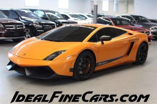 Used 2012 Lamborghini Gallardo SUPERLEGGERA - RARE COLLECTORS CAR! for sale in Toronto, ON