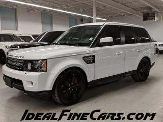 Used 2012 Land Rover Range Rover Sport SUPERCHARGED/NAV/PUSH START/BACK-UP CAM! for sale in Toronto, ON