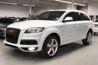 Used 2013 Audi Q7 SLINE/NAV/PANO/PUSH START/7PASSENGER! for sale in Toronto, ON