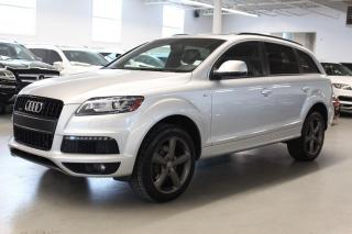 Used 2014 Audi Q7 TDI/NAV/PUSH START/7PASS/PANO for sale in Toronto, ON