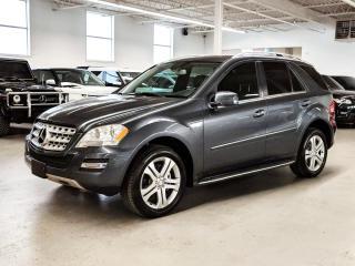 Used 2011 Mercedes-Benz ML-Class DIESEL/NAV/KEYLESSGO/BACK-UP CAM/LOADED! for sale in Toronto, ON