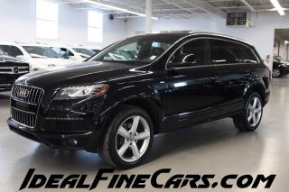 Used 2013 Audi Q7 3.0T SLINE/NAV/HEATED/VENTILATED SEATS/7PASS for sale in Toronto, ON
