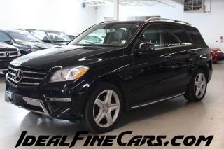 Used 2013 Mercedes-Benz ML-Class DRIVER ASSISTPKG/NAV/PANO/SPORT PKG! for sale in Toronto, ON