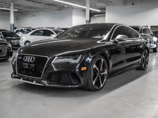 Used 2015 Audi RS 7 360CAMERA/CARBON FIBER INTERIOR/BLIND SPOT ASSIST! for sale in Toronto, ON