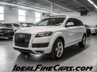 Used 2014 Audi Q7 TDI/7PASS/SLINEPKG/NAV/PUSHBUTTONSTART/PANO/DVD! for sale in Toronto, ON