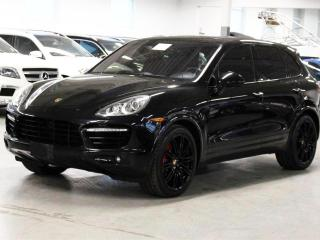 Used 2011 Porsche Cayenne Turbo MSRP $193000 BURMESTER/BLIND SPOT ASSIST/PANO! for sale in Toronto, ON