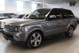 Used 2011 Land Rover Range Rover Sport SUPERCHARGED/NAV/PUSH START/BACKUP CAM! for sale in Toronto, ON