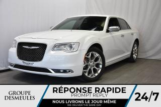 Used 2016 Chrysler 300 C * PLATINUM * AWD * CUIR * TOIT PANO for sale in Laval, QC