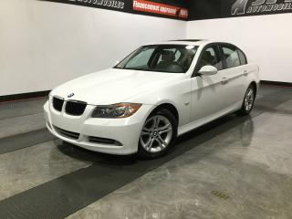 Used 2008 BMW 3 Series Berline 4 portes 328xi, traction intégra for sale in Carignan, QC