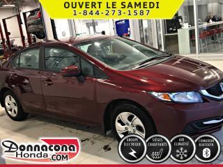 Used 2014 Honda Civic LX ***GARANTIE PROLONGÉE*** for sale in Donnacona, QC