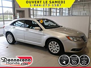 Used 2012 Chrysler 200 ***SUPER BAS MILLAGE*** for sale in Donnacona, QC