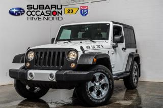 Used 2016 Jeep Wrangler Sahara for sale in Boisbriand, QC