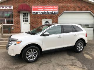 Used 2013 Ford Edge Limited AWD Pano Roof Navigation Rear Camera BT for sale in Bowmanville, ON