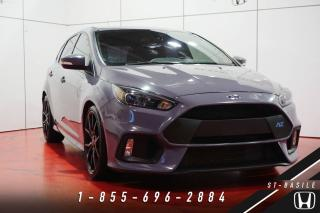 Used 2016 Ford Focus RS + RS2 PACK + RECARO + NAVI + INCROYAB for sale in St-Basile-le-Grand, QC