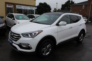 Used 2017 Hyundai Santa Fe Sport Leather Pano Roof for sale in Brampton, ON