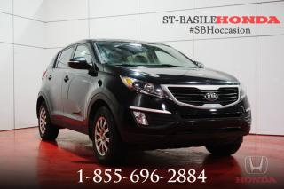 Used 2013 Kia Sportage LX + A/C + MAGS + CRUISE + WOW ! for sale in St-Basile-le-Grand, QC