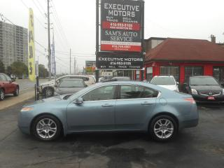 Used 2009 Acura TL CLEAN / LEATHER / SUNROOF / ALLOYS / CERTIFIED/ for sale in Scarborough, ON