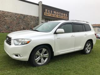 Used 2008 Toyota Highlander Sport. AWD. Leather. Sunroof. 7 Passenger. Alloys. for sale in North York, ON