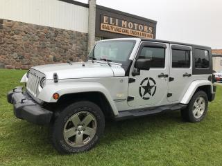 Used 2007 Jeep Wrangler Sahara unlimited 4WD. 4 DOOR for sale in North York, ON