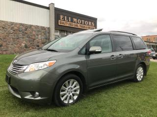 Used 2014 Toyota Sienna LIMITED. AWD. NAVIGATION. TV-DVD. PANO SUNROOF. for sale in North York, ON