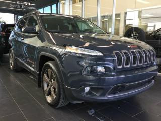 Used 2016 Jeep Cherokee 75th ANNIVERSARY , HEATED SEATS, SUNROOF for sale in Edmonton, AB