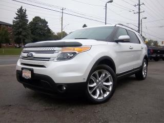Used 2012 Ford Explorer LIMITED for sale in Whitby, ON