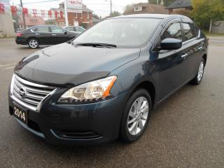 Used 2014 Nissan Sentra SV/NAVIGATION/P.ROOF/HEATED SEATS/BACK-UP CAMERA for sale in Guelph, ON