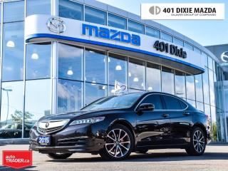 Used 2015 Acura TLX Tech, ONE OWNER, NO ACCIDENTS for sale in Mississauga, ON