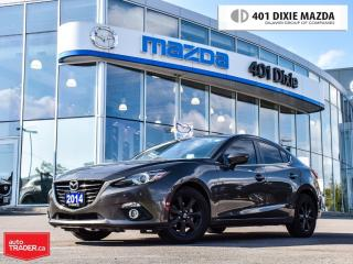 Used 2014 Mazda MAZDA3 GT-SKY, 1.9% FINANCE AVAILABLE, NO ACCIDENTS for sale in Mississauga, ON