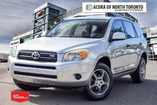 Used 2007 Toyota RAV4 Base V6 5A One Owner  Accident Free  for sale in Thornhill, ON