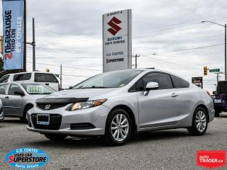 Used 2012 Honda Civic COUPE EX-L ~Nav ~Power Moonroof ~Heated Leather for sale in Barrie, ON