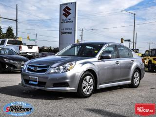 Used 2010 Subaru Legacy 2.5i AWD for sale in Barrie, ON