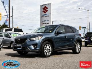 Used 2015 Mazda CX-5 GT AWD ~Nav ~Backup Cam ~Heated Leather for sale in Barrie, ON